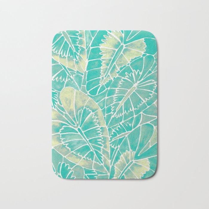 Schismatoglottis Calyptrata – Mint Palette Bath Mat