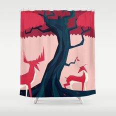 Where they met Shower Curtain