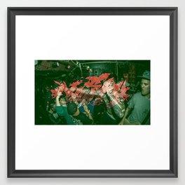 NASTY Framed Art Print
