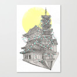 City of Lanterns Canvas Print