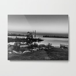 A Little Bit of Lake Superior Metal Print