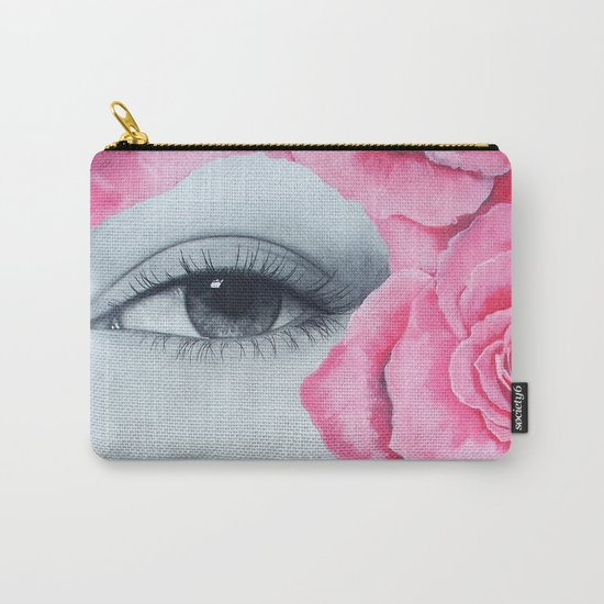 With my roses Carry-All Pouch