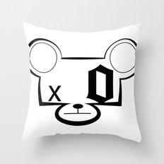 Bear Head Throw Pillow