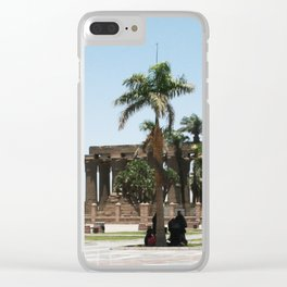 Temple of Luxor, no. 20 Clear iPhone Case