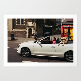 Camden Cruising Art Print
