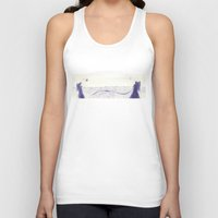 angels Tank Tops featuring Angels by Óscar S. Cesteros