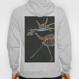 Megaloceros Giganteus Skeletal Study (No Labels) Hoody