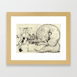 The End of Lil Red Framed Art Print