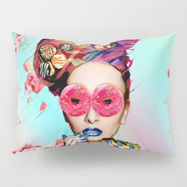 Candy Lady Pillow Sham