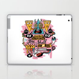 Pizza Mystery Laptop & iPad Skin