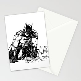Cleaning up Gotham City Stationery Cards