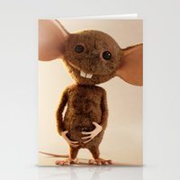 rat Stationery Cards featuring Rat by timecore