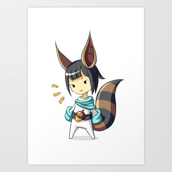 Squirrel 2 Art Print
