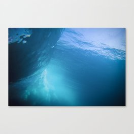 Under The Barrel Canvas Print