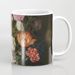 Ambrosius Bosschaerts the Elder - Bouquet of Flowers in a Stone Niche Coffee Mug