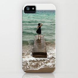 The Woman And The Sea iPhone Case