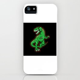 Carnivorous Dinosaur Gift Design iPhone Case