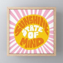 Sunshine Vibes Framed Mini Art Print