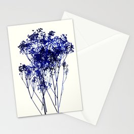 babys breath 1 Stationery Cards