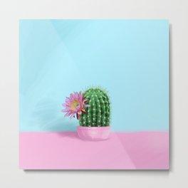 Cactus Flower Serie 1 Metal Print