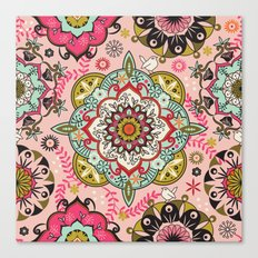 Mandala color pattern Canvas Print