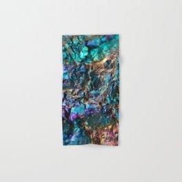 Turquoise Oil Slick Quartz Hand & Bath Towel