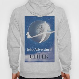 Into Adventure! Go By Glider. Hoody