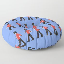 Queens Guard Marching Floor Pillow