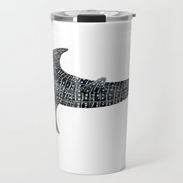 Whale shark for divers, shark lovers and fishermen Travel Mug