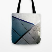 aviation Tote Bags featuring Aviation by Paper Possible