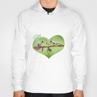 lovers Hoodies featuring Lovers by Ivan Pawluk