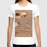 dune T-shirts featuring SAND DUNE  by CAPTAINSILVA