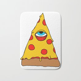 Illuminati Pizza - Swag Pepperoni Confirmed Bath Mat