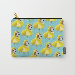 corgi in rain coat Carry-All Pouch