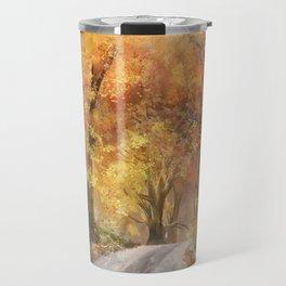 Autumn's Glow Travel Mug