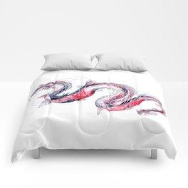 Koi Dragon Comforters