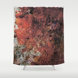 Grunge wall texture 3 Shower Curtain
