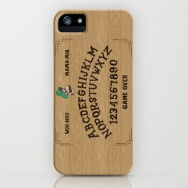 LUIGI BOARD iPhone Case