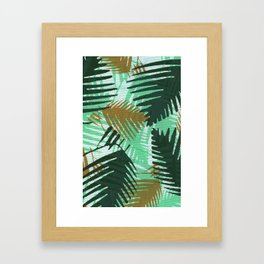 Un-Camo Project TEAL Framed Art Print