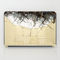 leather iPad Cases featuring Vine & Leather by Peta Sun Fire