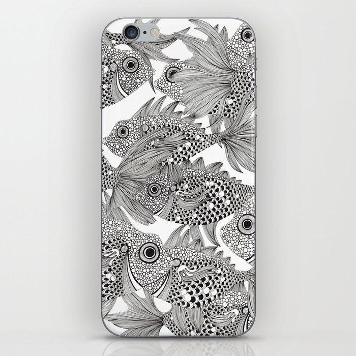 Fish School II iPhone Skin