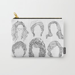 Big Big Hair Carry-All Pouch