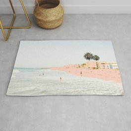 Pink Beach #society6 #decor #buyart Rug