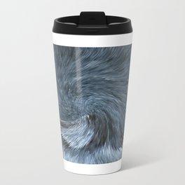 Blue Modern  Travel Mug