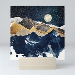 Midnight Winter Mini Art Print