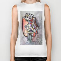 technology Biker Tanks featuring Technology System1 by infloence