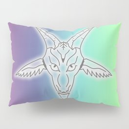 Rainbow Satan Pillow Sham