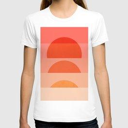 Abstraction_SUNRISE_Minimalism_ART_001 T-shirt
