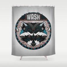 Wash Shower Curtain