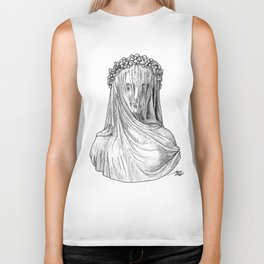 Veiled Lady Biker Tank